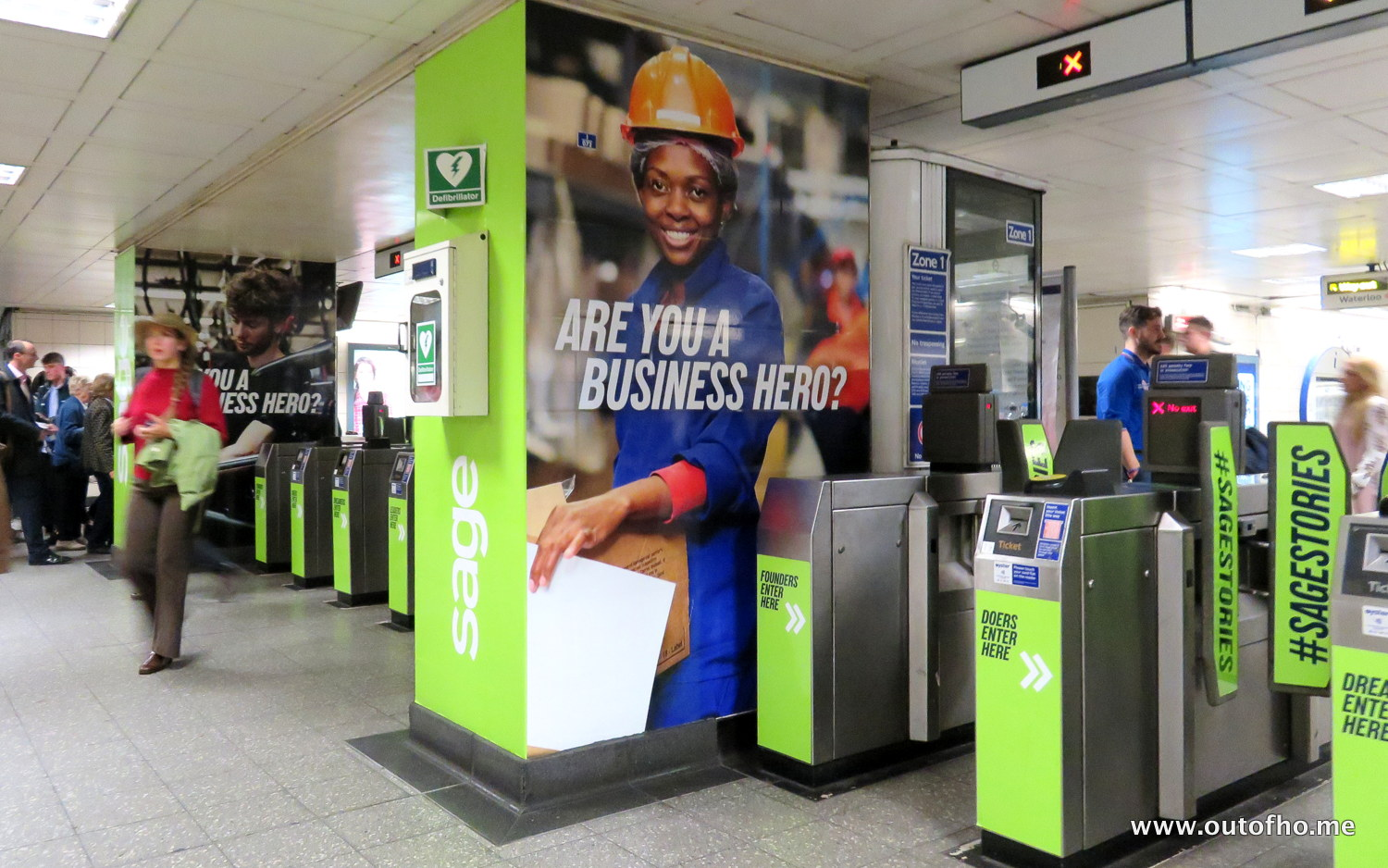 SageStories Dominates Waterloo LU Concourse | outofhome net